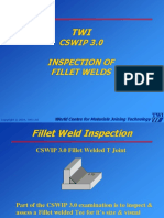 129463751 TWI CSWIP 3 0 Inspection of Fillet Welds