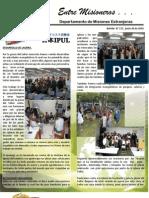 Boletin 171 Informe Misionero de Israel - Junio de 2010