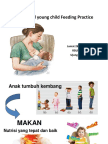 Infant and Young Child Feeding Practice