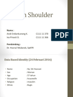 Frozen Shoulder Uneng Iva Ppt