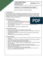 GW 310 Seminaraufgabe Ohne Werte TW Leitung 01 02 Anlagen SS2010