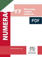 Year 7, Reasoning Sample Materials.pdf