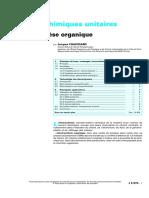 Électrosynthèse organique