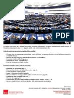 Briefing de plénière - mars 2017