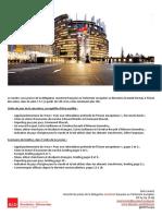 Briefing de plénière -  mai 2016
