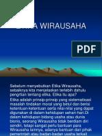 ETIKA WIRAUSAHA