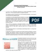 Transcripción Clase 2 Psoriasis, Liquen y pitiriasis (1)