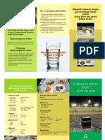 Brosur TIPS Dan Makanan Sehat Haji .FH11