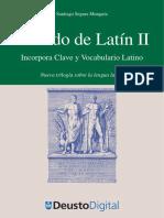 Santiago Segura Munguia Metodo de Latin II Incorpora Clave y Vocabulario Latino. Serie Letras.