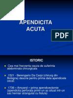 Apendicita Acuta Si Cronica