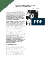 1999 La Condición Pragmática de La Inteligencia Política (J. L. Orozco)