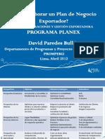 Plan de Negocios Exportador