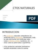 Exposicion de Productos Naturales