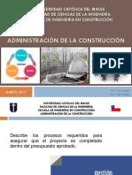 Clases Adm.construcion - UCM (2da Etapa)