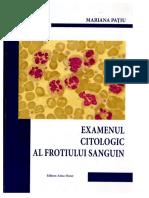 Examenul Citologic Al Frotiului Sanguin