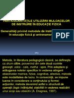 Curs Metode TEFS 2013