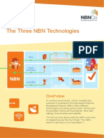 Education Three Technologies Fact Sheet