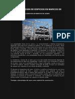 Estructuracion de Edificios en Marcos de Acero