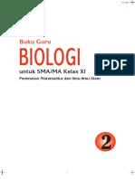 Buku Guru Biologi SMA XI