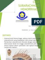 Case Sub Araknoid Hemoragik