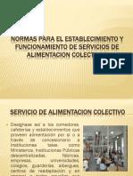 Normas Para El Establecimiento y Funcionamiento de Servicios 1