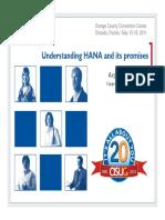 Understanding HANA