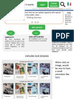 Website Landing Page