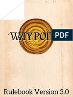 Waypoint Rule Book