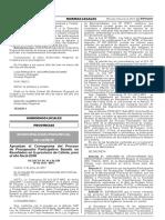 Aprueban el Cronograma del Proceso de Presupuesto Participativo Basado en Resultados en la provincia de Cañete para el año fiscal 2018