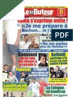 LE BUTEUR PDF du 31/07/2010