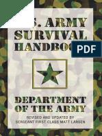 U.S. Army Survival Handbook%2C Revised