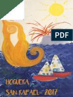Llibret Hoguera San Rafael 2017