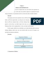 [5] Methodology + List and Uses