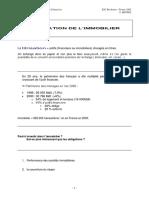 Titrisation Immobilier Esc Bordeaux