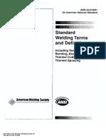 AWS A3.0-2001