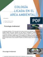 sicologia aplicada al ambiente