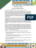 AA3 Evidencia Foro Conflictos y Oportunidades de Mejora