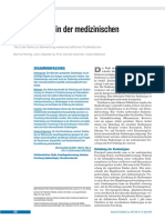 Studientypen in Der Medizinischen Forschung