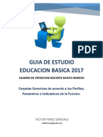 Guia de Estudio Docente Ingreso 2017