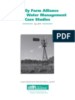 Family Farm Alliance Final Water Management Report