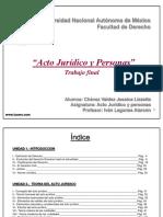Iusmx Acto Juridico y Personas