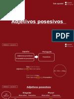 Adjetivos Posesivos.odp