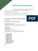 Sterlite Adsl Profile Config