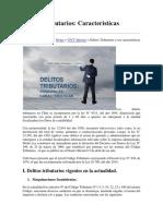 Delitos Tributarios CHILE