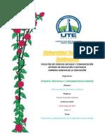 Ceremonial y Protocolo Dentro de Su Aplicación en Los Eventos