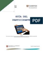 Guía Del Participante- 2017
