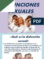 DIFUNCIONES SEXUALES