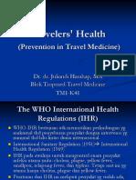 K41,42 - Travel Medicine.ppt