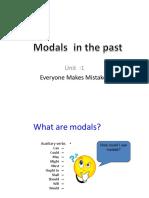 Modals in Past