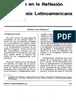 Maria en La Reflexion Latinoamericana